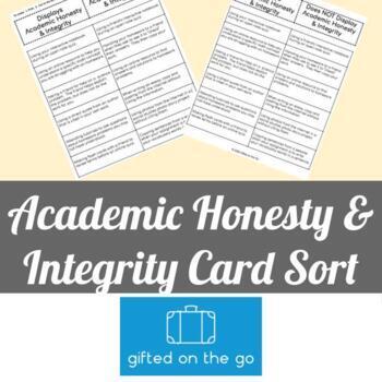 Honesty & Integrity Sort