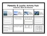 Honesty & Loyalty Activity Pack