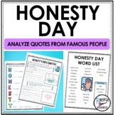 Honesty: National Honesty Day Quote Analysis and Poem
