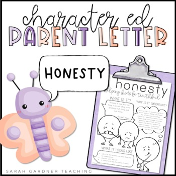 Honesty Parent Letter