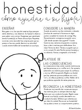 Honesty Parent Letter - SPANISH
