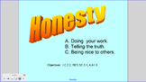 Honesty Smartboard Lesson K-3