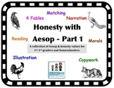 Honesty with Aesop's Fables Part 1 (Narrate & Illustrate)