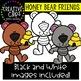 Honey Bear Friends {Creative Clips Clipart}