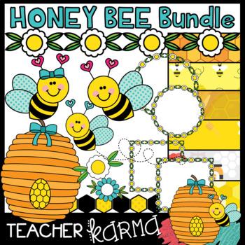 Honey Bee BUNDLE of Clipart