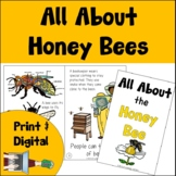Honey Bee Book Print and Digital | Emergent Reader and Decodable