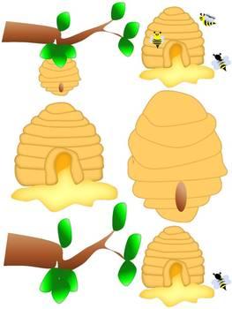Honey Bee CLIP ART