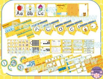 Honey Bee Classroom Decor