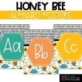 Honey Bee Classroom Decor | Alphabet Posters - Editable!