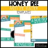 Honey Bee Classroom Decor | Meet the Teacher, Newsletter,