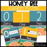 Honey Bee Classroom Decor | Number Posters