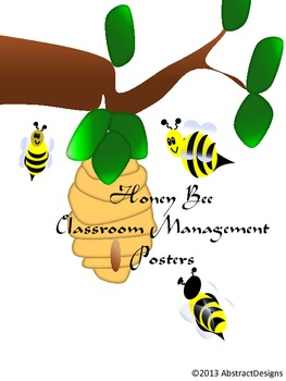 Honey Bee Classroom Management Posters