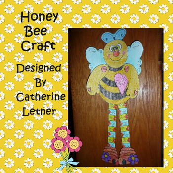 Spring Honey Bee Craft