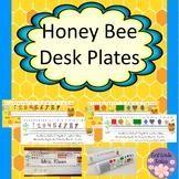 Honey Bee Desk Name Tags