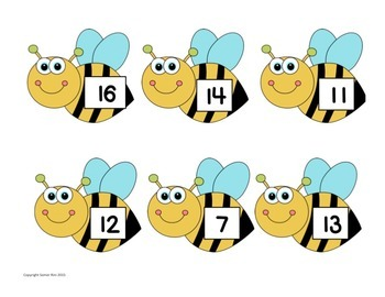 Honey Bee Fact Matching Game