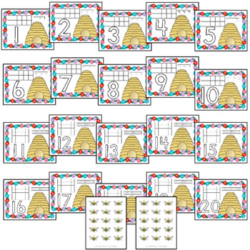 Honey Bee Hive Counting Mats