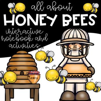 Honey Bee Interactive Notebook and Activities