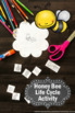 Bee Life Cycle Craft Activity, Science Interactive Notebook, Insects Unit