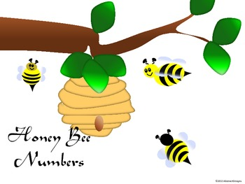 Honey Bee Numbers (100's Chart and Calendar)