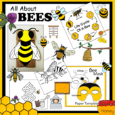 Honey Bee Paper Crafts, Activities And Clip Art Collection