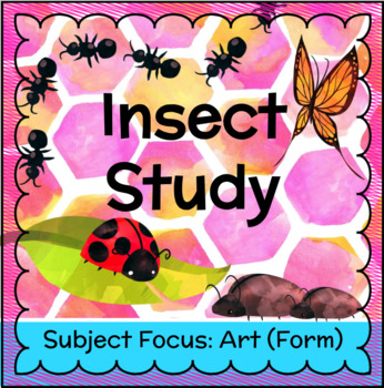 Honey Bee Study - Insect Forms FREEBIE!