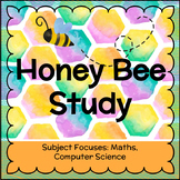 Honey Bee Study with Maths and Scratch