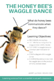Honey Bee Waggle Dance - What do honey bees communicate when they dance?