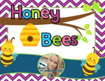Honey Bees Mini Unit