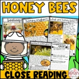 Honey Bees Reading Passages (Take Home Packet First Grade)