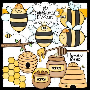 Honey Bees Clip Art Clipart