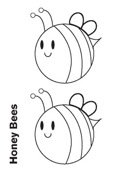 Honey Bees Coloring Sheet By Ms Martinez The Art Teacher Tpt