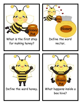 Honey Bees Comprehension Questions