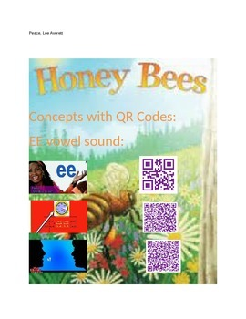 Honey Bees  Concepts with Q.R. codes