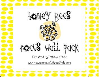 Honey Bees Focus Wall Pack