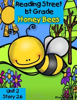 Honey Bees Resource Pack Reading Street 1st Grade Unit 2 Story 6