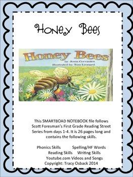 Honey Bees SMARTBoard Interactive Lesson Scott Foresman Reading Street Grade 1