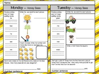 Honey Bees - Scott Foresman 1st Grade