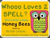 HONEY BEES Spelling RTI Pack by Ms. Lendahand:)