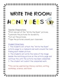 Honey Bees - Write the Room Activity
