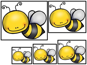 graphic about Bee Printable called Honey Bees themed Measurement Series. Printable Preschool Video game