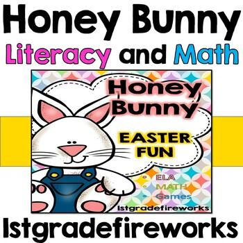 Honey Bunny's Easter Fun - Reading/Writing & Math