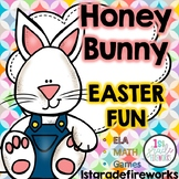 Honey Bunny's Easter Fun - Reading/Writing & Math