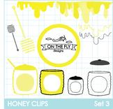 Honey Clips Set 3 Clip Art