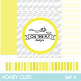 Honey Clips Set 4 Clip Art & Pages {Freebie!}