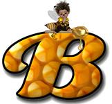 Honey Comb Alphabet