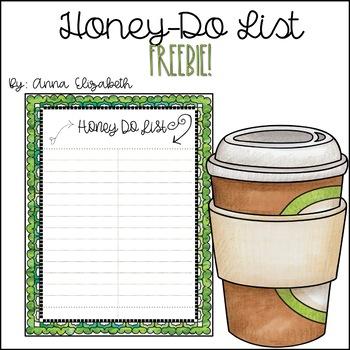 Honey Do List *Freebie*