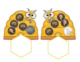 Honey Money CANADIAN Coins Counting On Activity