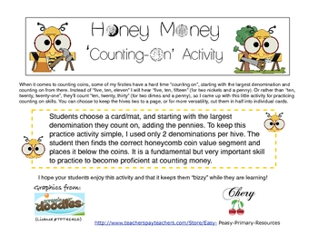 Honey Money 'Counting On' Activity