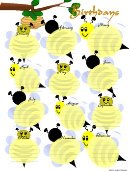 Honey Bee Classroom Management Set