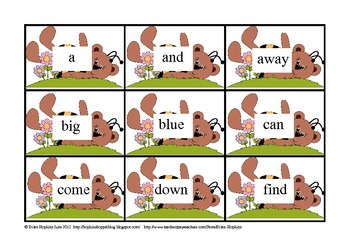 Honey O' Sight Word Game